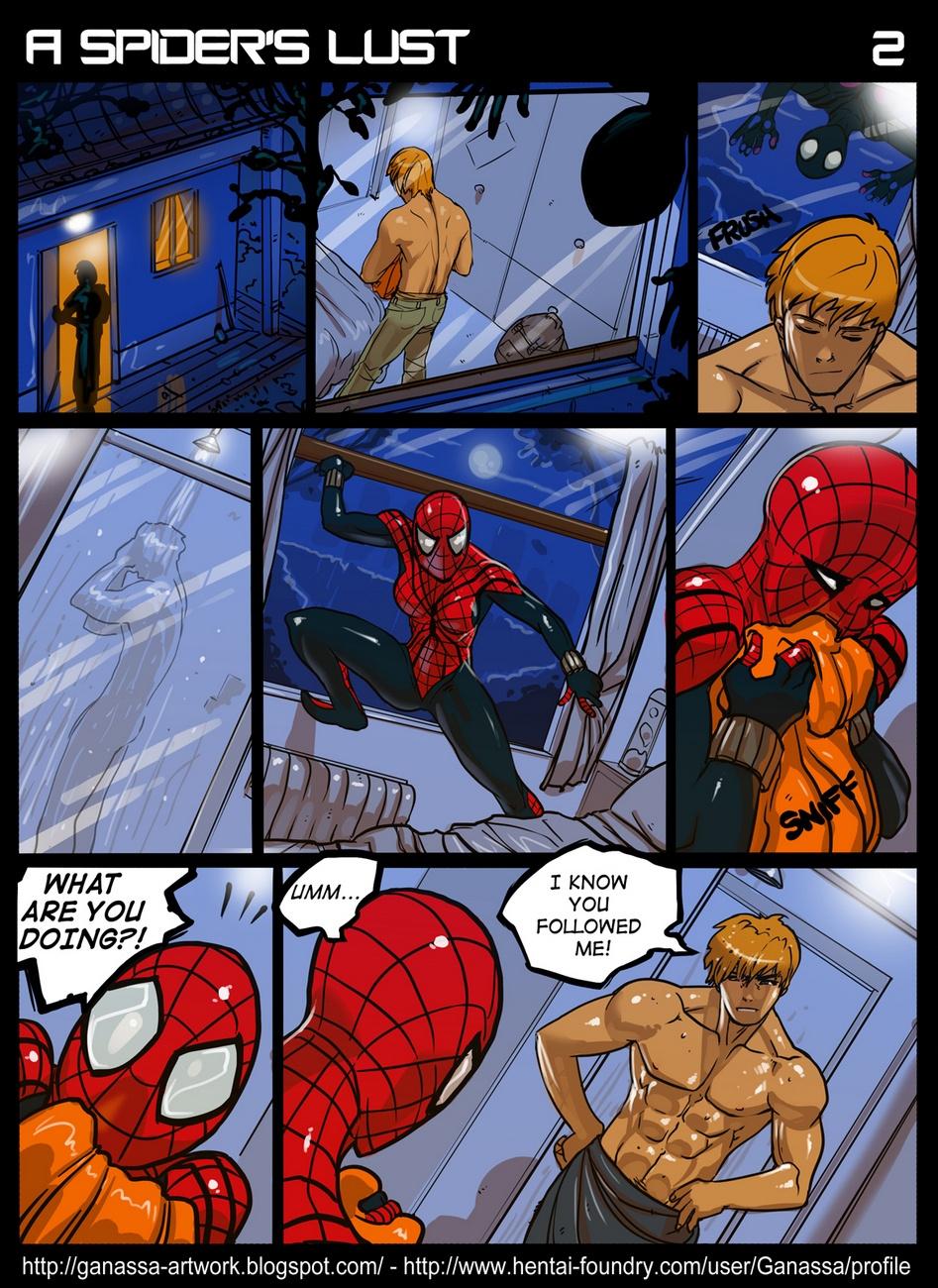 A Spider's Lust porn comics Masturbation, Creampie, Cum Shots, Latex, Straight