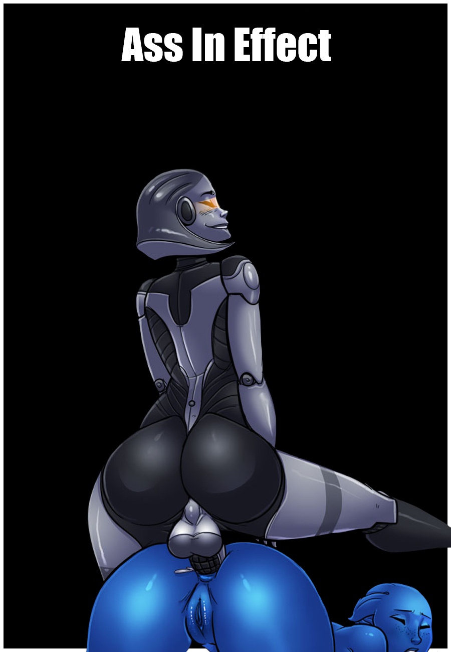 Ass In Effect porn comics Oral sex, Aliens, Anal Sex, Futanari, Lesbians