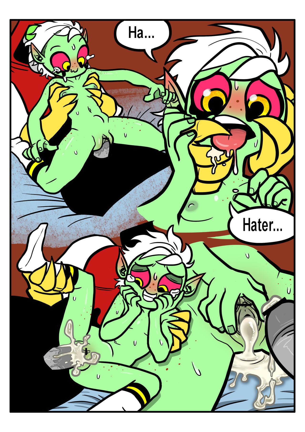 Loli Dominator cartoon porn Oral sex, Aliens, Lolicon