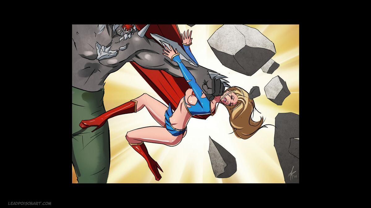 Slave Crisis #1: Superman Monster Girls, Rape