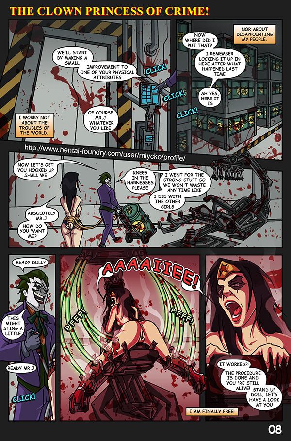 The Clown Princess of Crime porn comics Anal Sex, BDSM, Double Penetration, Futanari, Group Sex, Hardcore, Kidnapping, Masturbation, Rape, Sex Toys