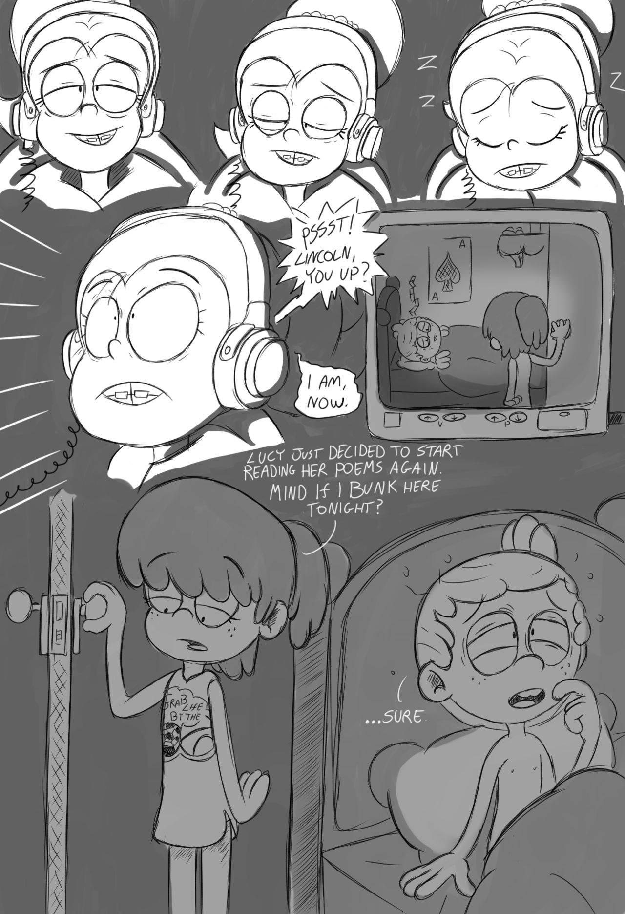The loud house comic, chapter 2 cartoon porn Oral sex, incest, Lolicon, Masturbation