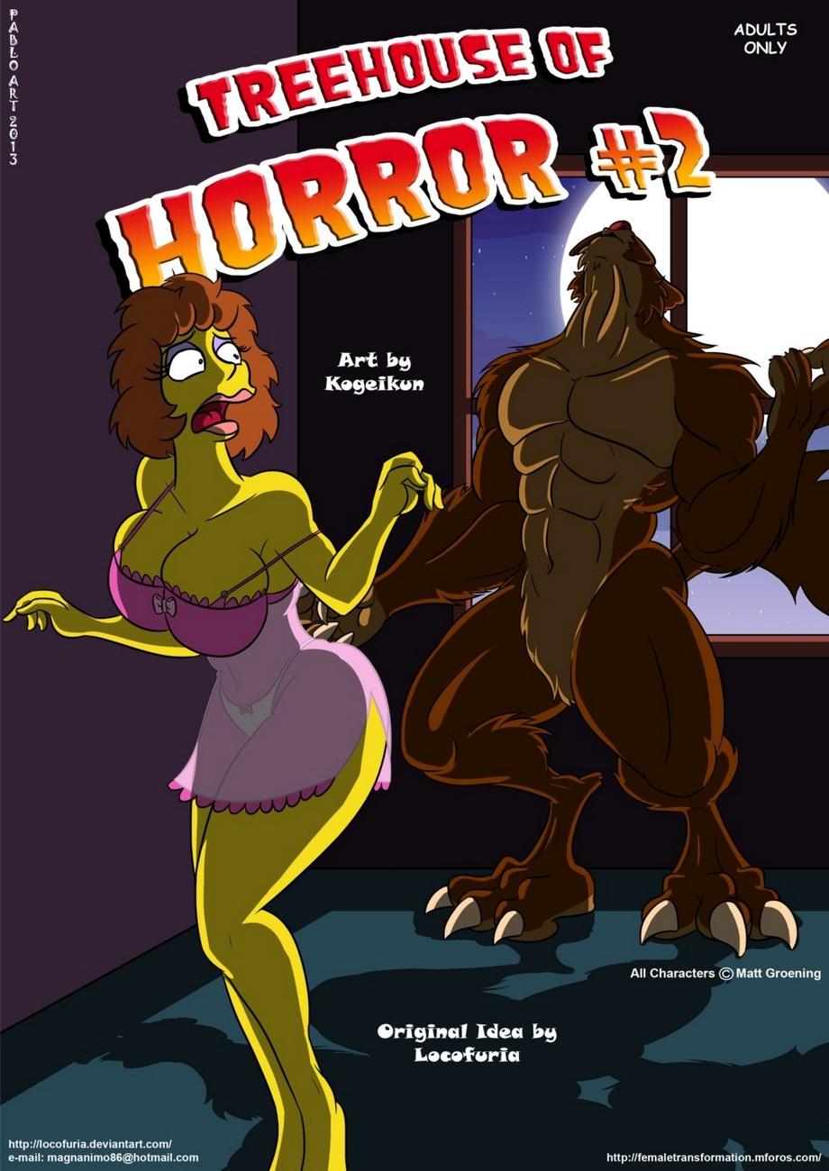 Treehouse Of Horror 2 porn comics Oral sex, Masturbation, Monster Girls, Rape