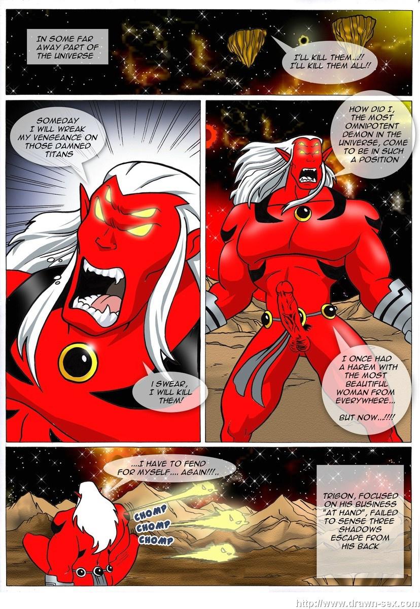 Trigon's Dark Desires porn comics Oral sex, Anal Sex, BDSM, Double Penetration, Monster Girls, Rape, Sex and Magic, Tentacles