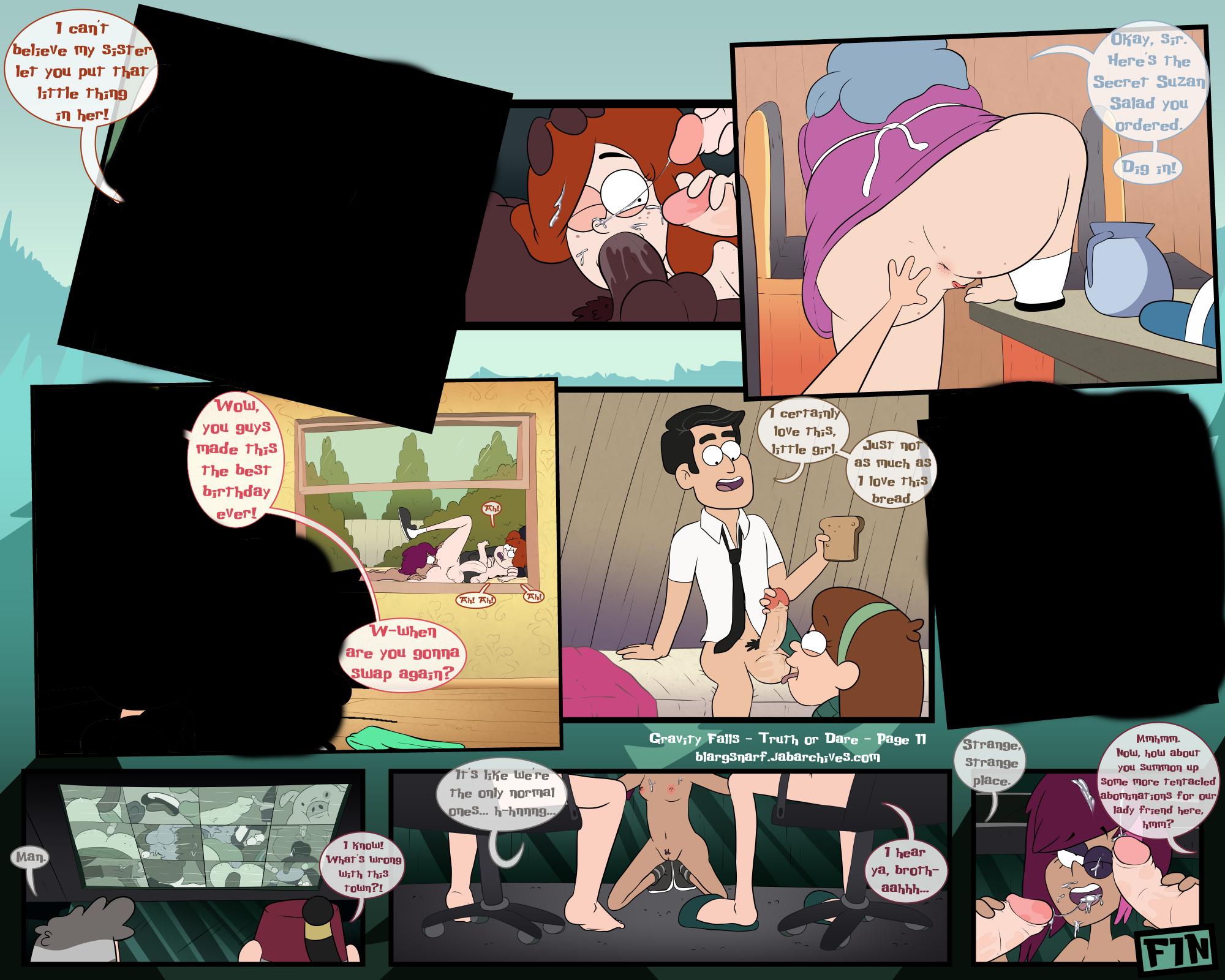 Truth or dare porn comics Oral sex, Anal Sex, BDSM, Bestiality, Blowjob, Creampie, Cum Shots, Cum Swallow, cunnilingus, Double Penetration, Gangbang, Group Sex, incest, Lesbians, Lolicon, Masturbation, MILF, Straight, Straight Shota