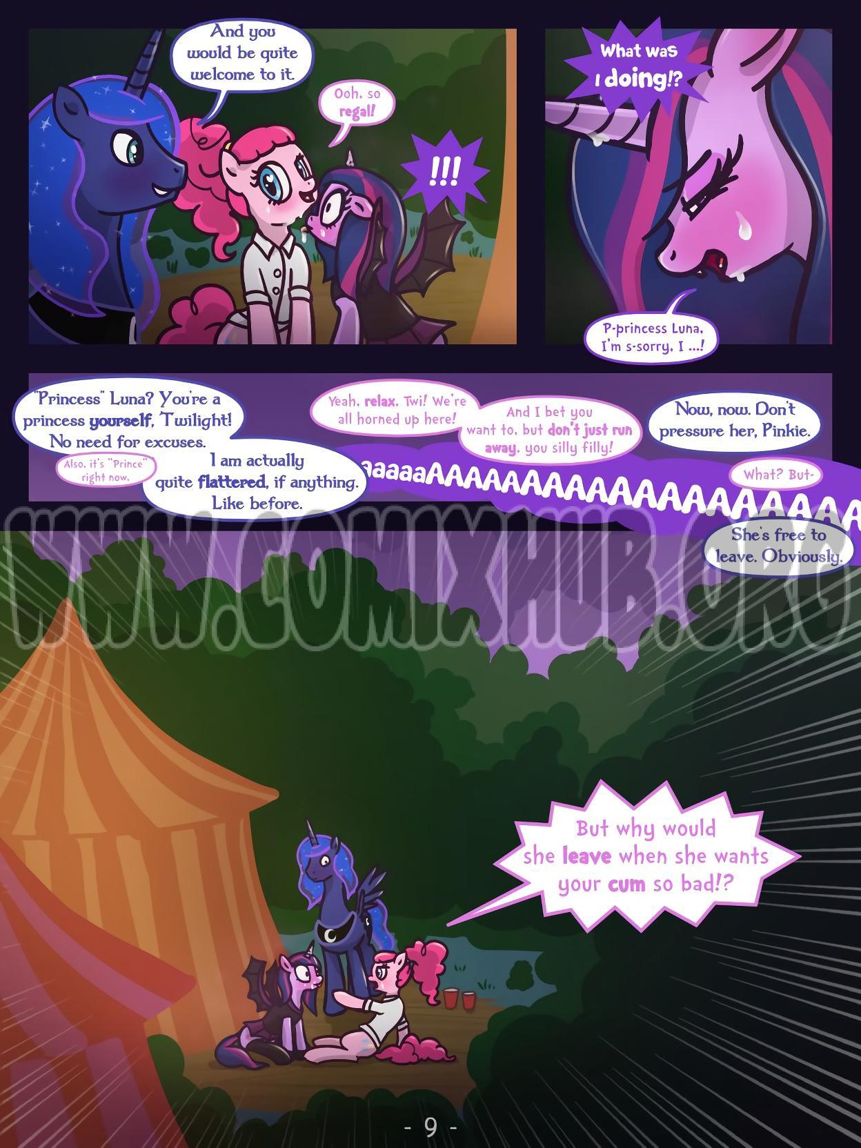 A Happy Nightmare Night porn comics Masturbation, Futanari, Stockings