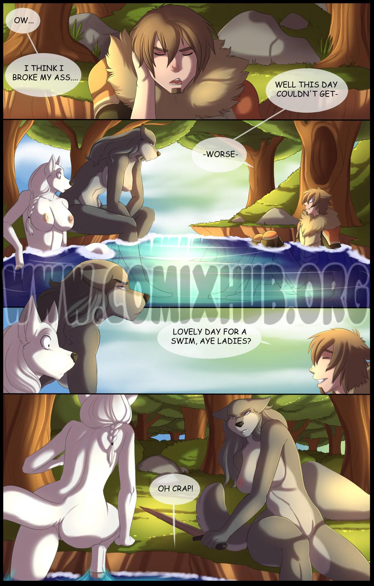 A Howl In The Woods porn comics Oral sex, cunnilingus, Furry, Straight
