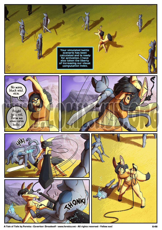 A Tale of Tails 6 porn comics Furry