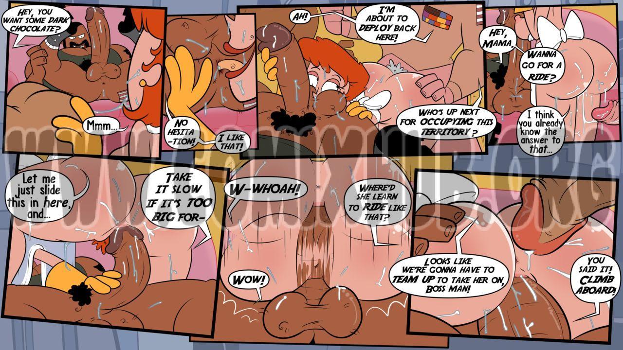 Action Skank: Extended Features porn comics Oral sex, Blowjob, cunnilingus, Deepthroat, Group Sex, Masturbation, MILF