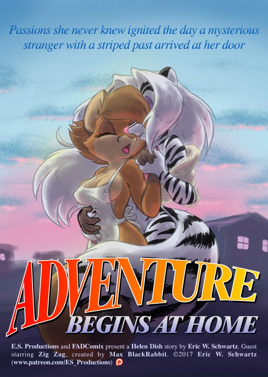 Adventure Begins at Home porn comics Oral sex, Blowjob, Cum Shots, Cum Swallow, cunnilingus, fingering, Furry, Group Sex, Lesbians, Masturbation, Sex Toys, Straight, Threesome