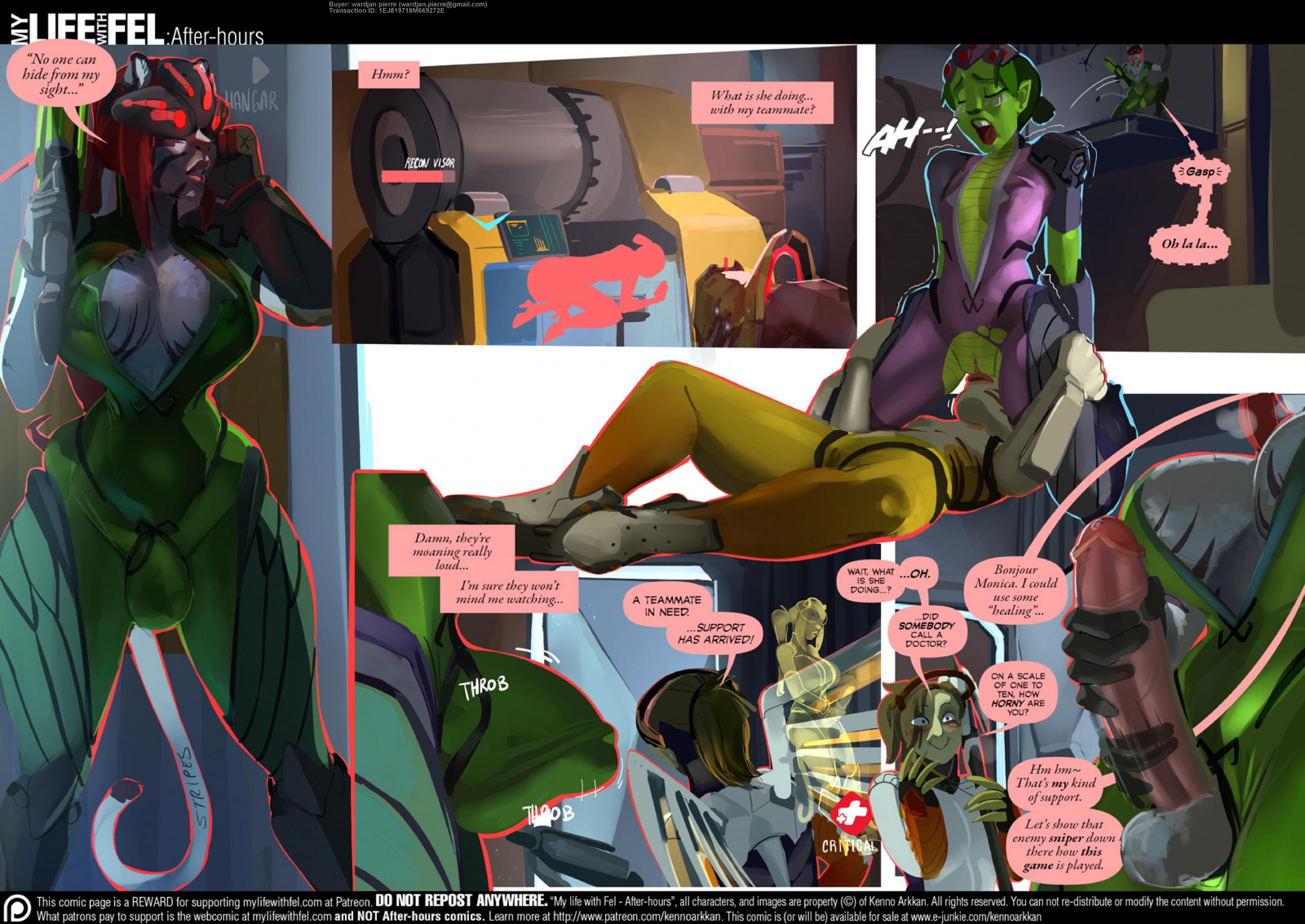 Afterwatch porn comics Oral sex, Anal Sex, Double Penetration, Furry, Futanari, Group Sex, Latex, Lesbians, Sex Toys, Stockings