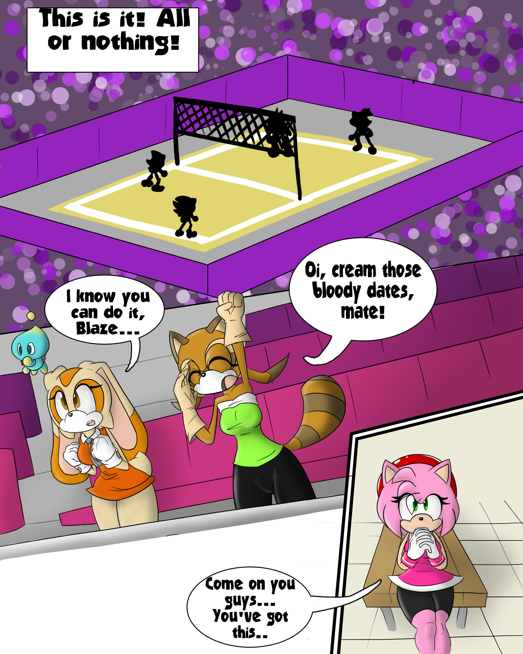 All Fun And (Olympic) Games porn comics Oral sex, Lesbians