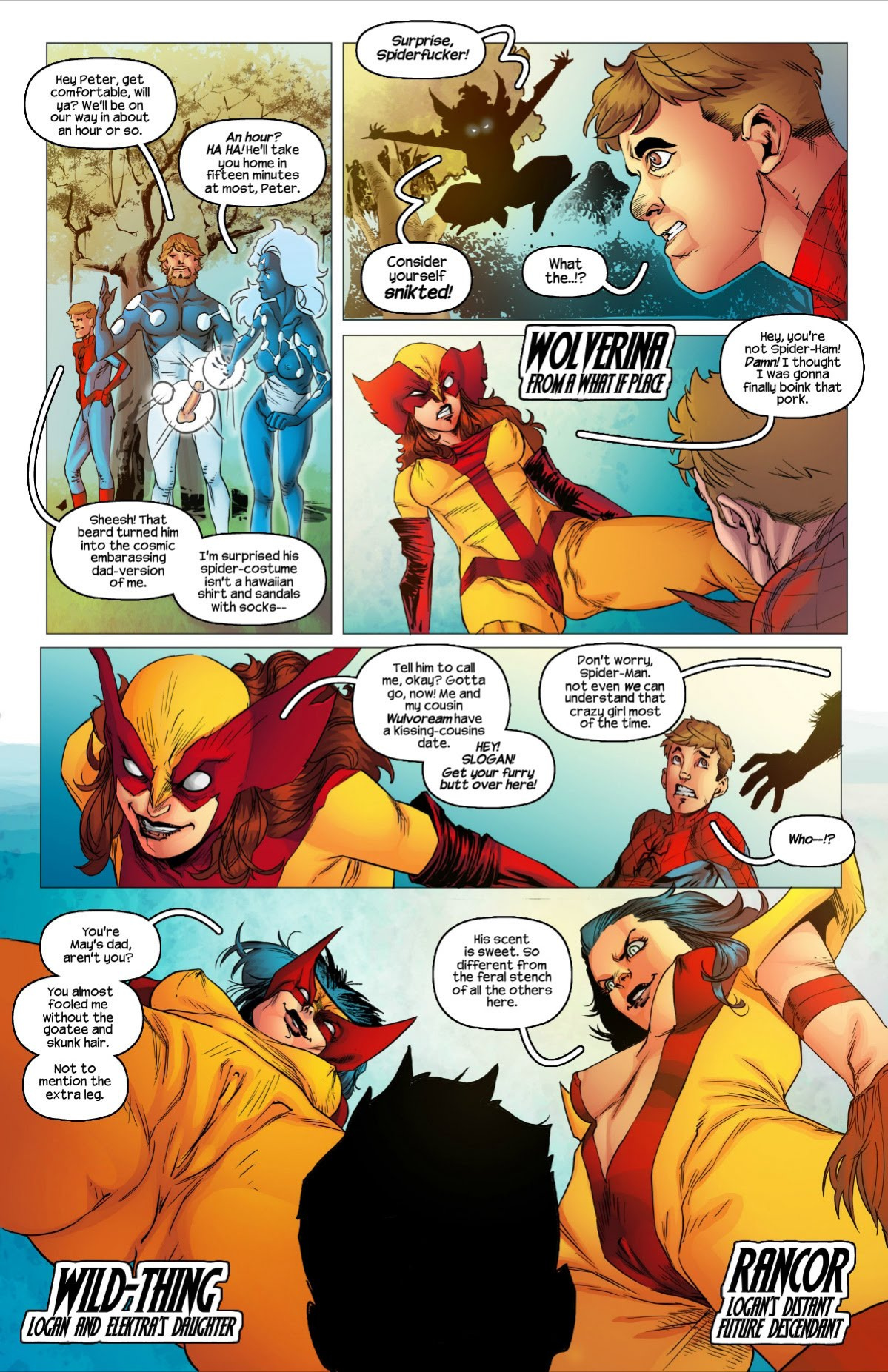 All-sex Wolververse porn comics Oral sex, Anal Sex, Blowjob, Creampie, Cum Shots, Double Penetration, Group Sex, Latex, Monster Girls, Rule 63, Sex and Magic, Stockings, Straight, Threesome