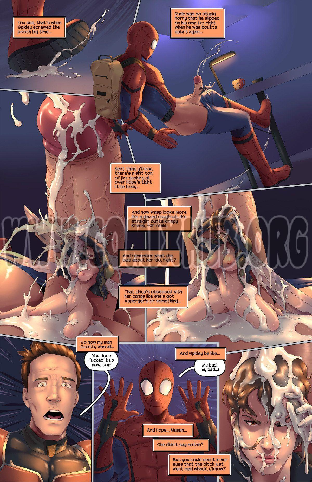 Ant-Man And The Wasp 2 porn comics Oral sex, Creampie, Cum Shots, cunnilingus, X-Ray