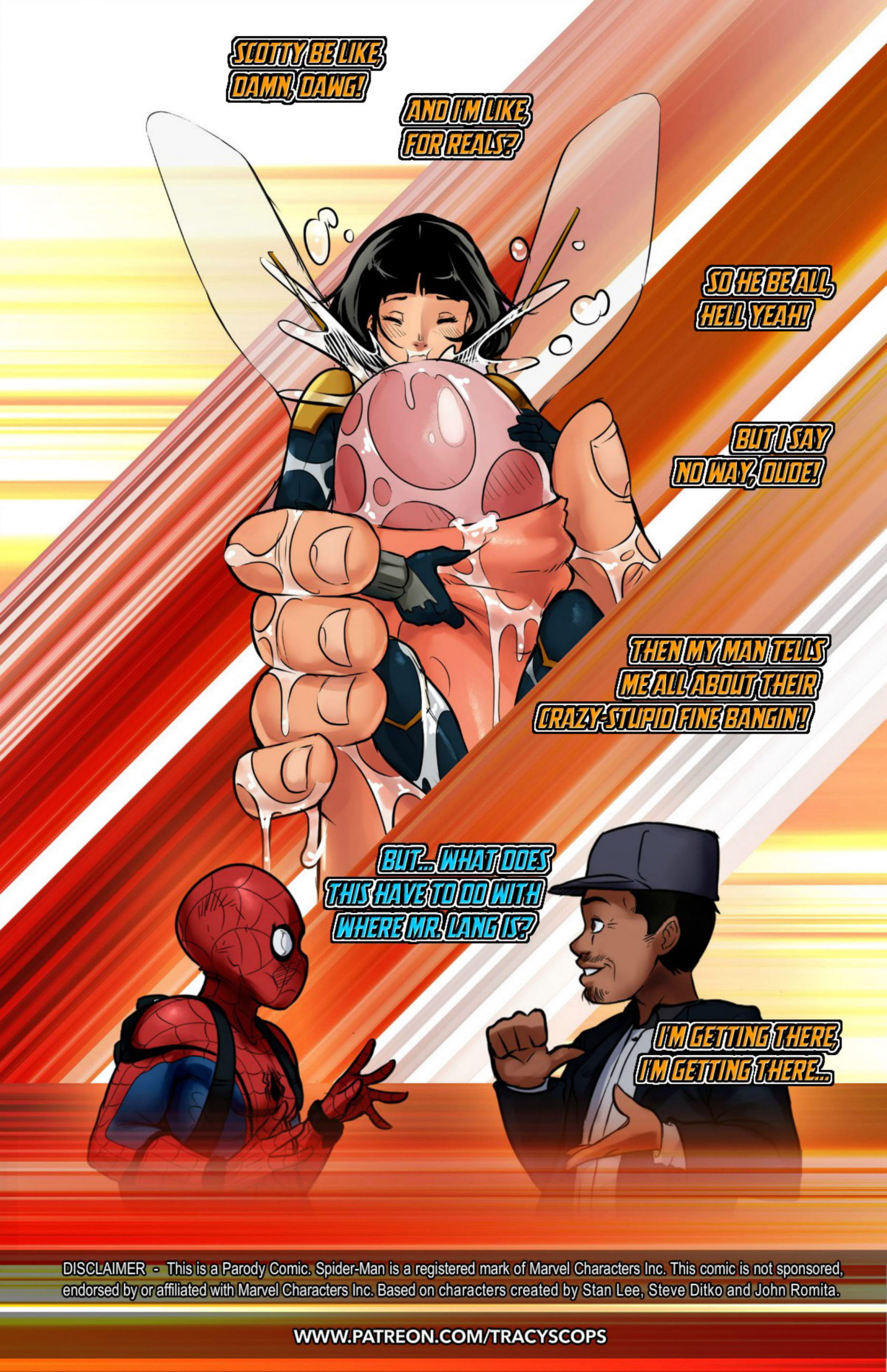 Ant Man and the Wasp porn comics Oral sex, Blowjob, Cum Shots, cunnilingus, Deformed, fingering, Masturbation, Sex Toys, Stockings, Straight, X-Ray