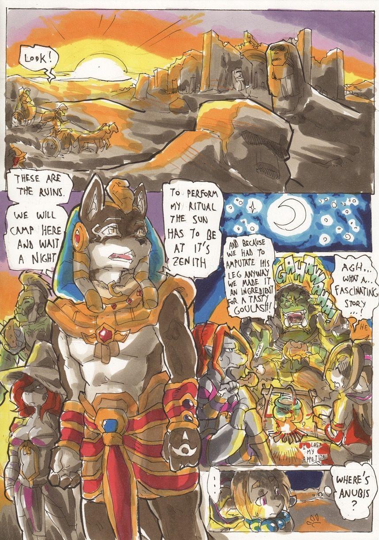 Anubis Stories 4 - Desert Collossus porn comics Blowjob, Creampie, Cum Shots, Cum Swallow, cunnilingus, Fantasy, fingering, Furry, Oral sex, Sex and Magic, Straight, X-Ray