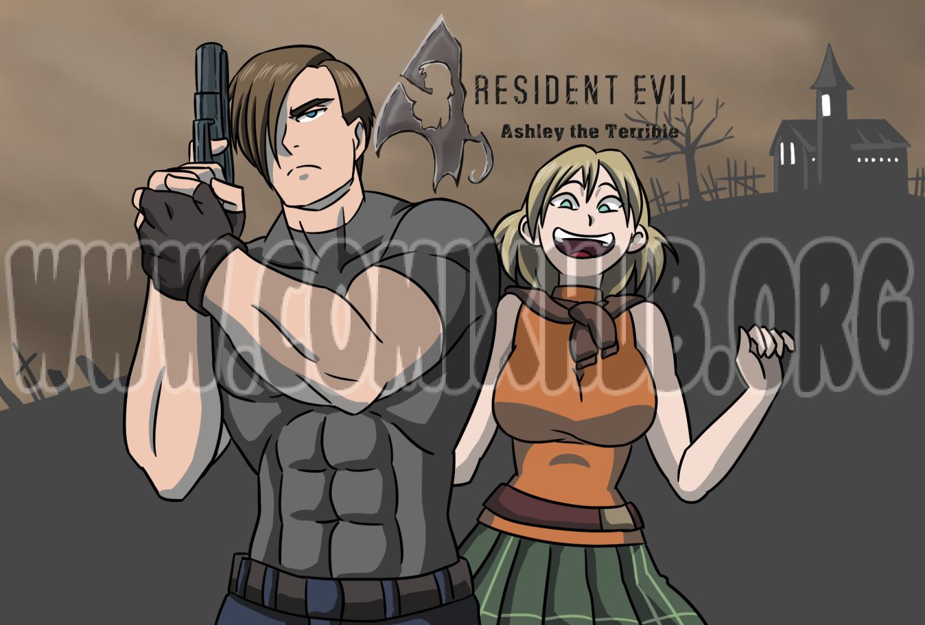 Ashley the Terrible, resident evil Masturbation, Aliens, Anal Sex, Animated, Big Tits, cunnilingus, Double Penetration, Fantasy, Monster Girls, Rape, Stockings, Straight, Tentacles, Transformation