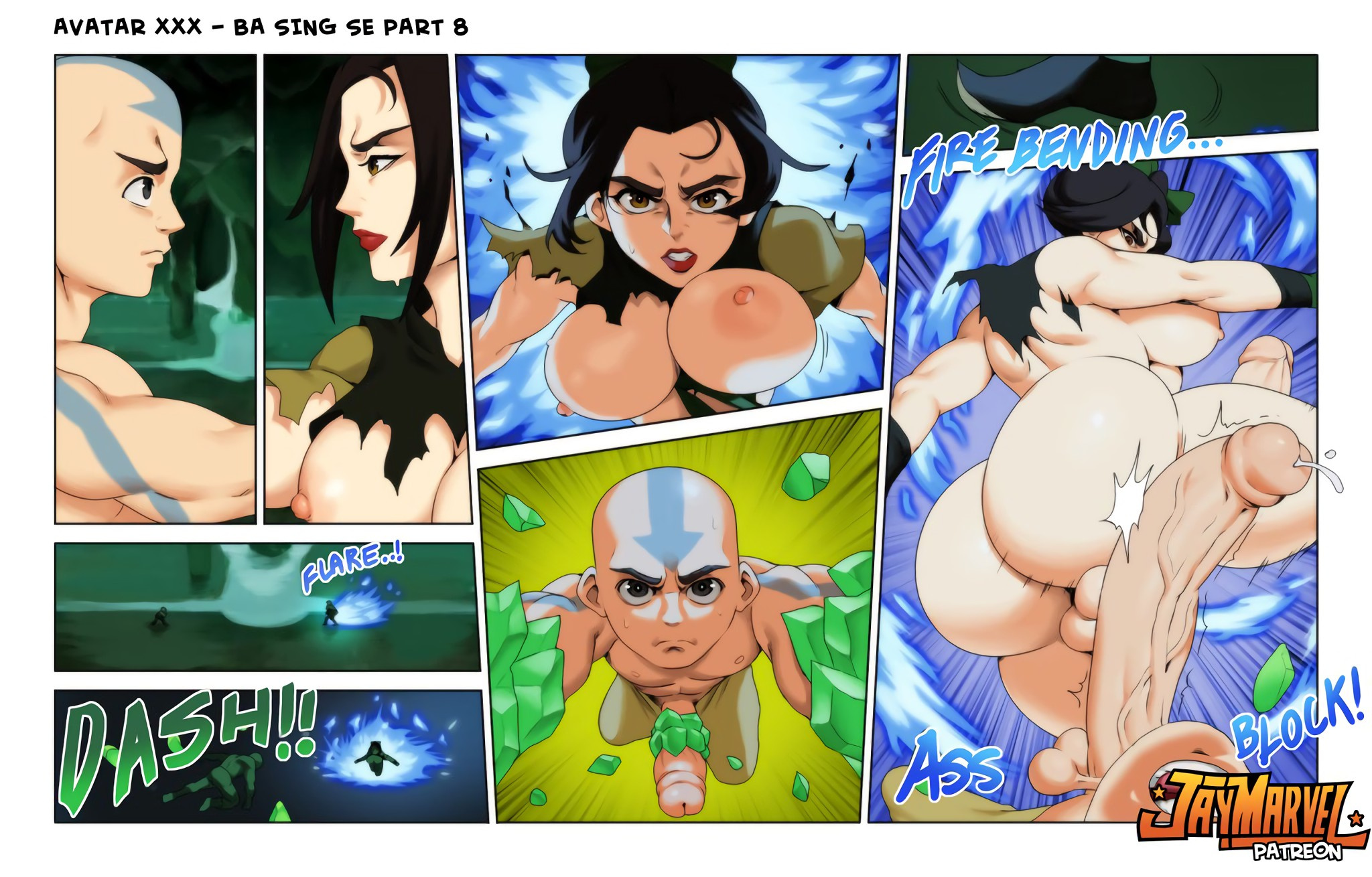 Avatar XXX Book Two porn comics Oral sex, Big Tits, Blowjob, Creampie, Cum Shots, Cum Swallow, Deepthroat, Deformed, Double Penetration, Fantasy, Futanari, Straight, Straight Shota, Titfuck