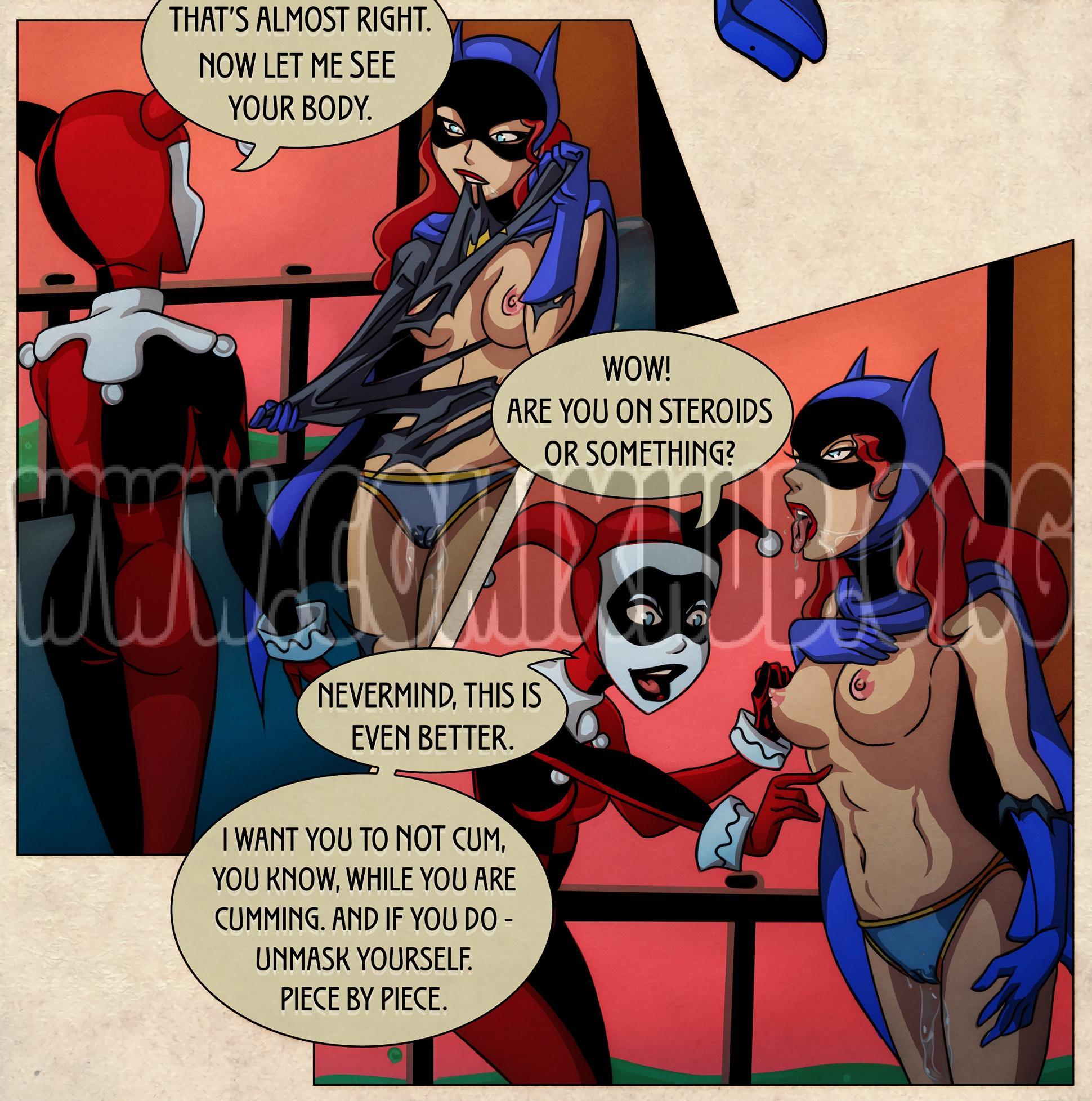 Batgirl - Issues Latex, Lesbians