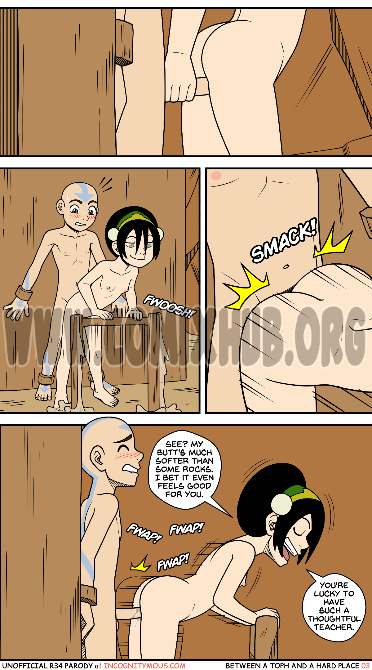Between A Toph And A Hard Place porn comics Straight, Creampie, Domination, Femdom, Lolicon, X-Ray