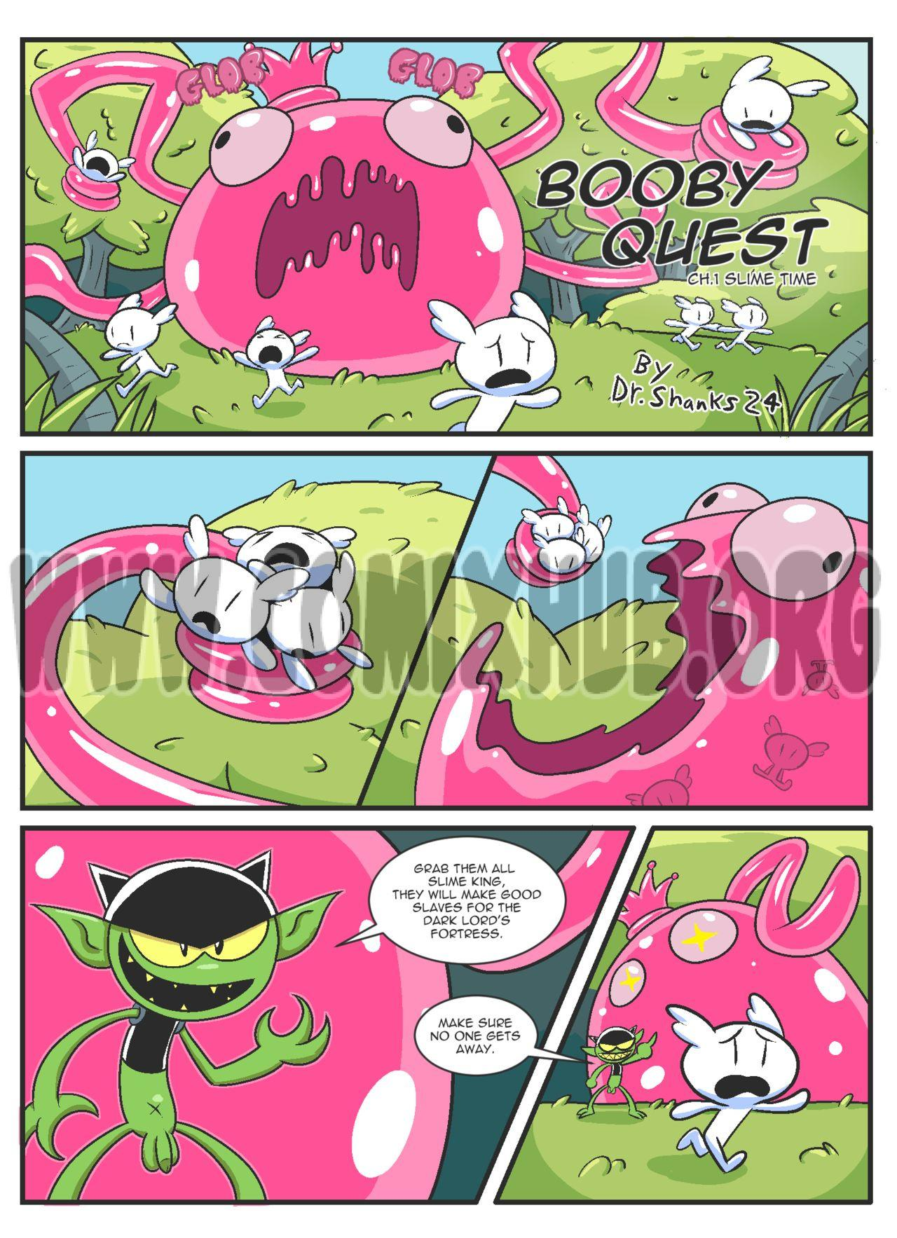 Booby Quest 1-4 porn comics Oral sex, Anal Sex, Blowjob, Creampie, Cum Swallow, Deepthroat, Double Penetration, Fantasy, Group Sex, Rape, Sex and Magic, Stockings, Straight, Tentacles, Threesome