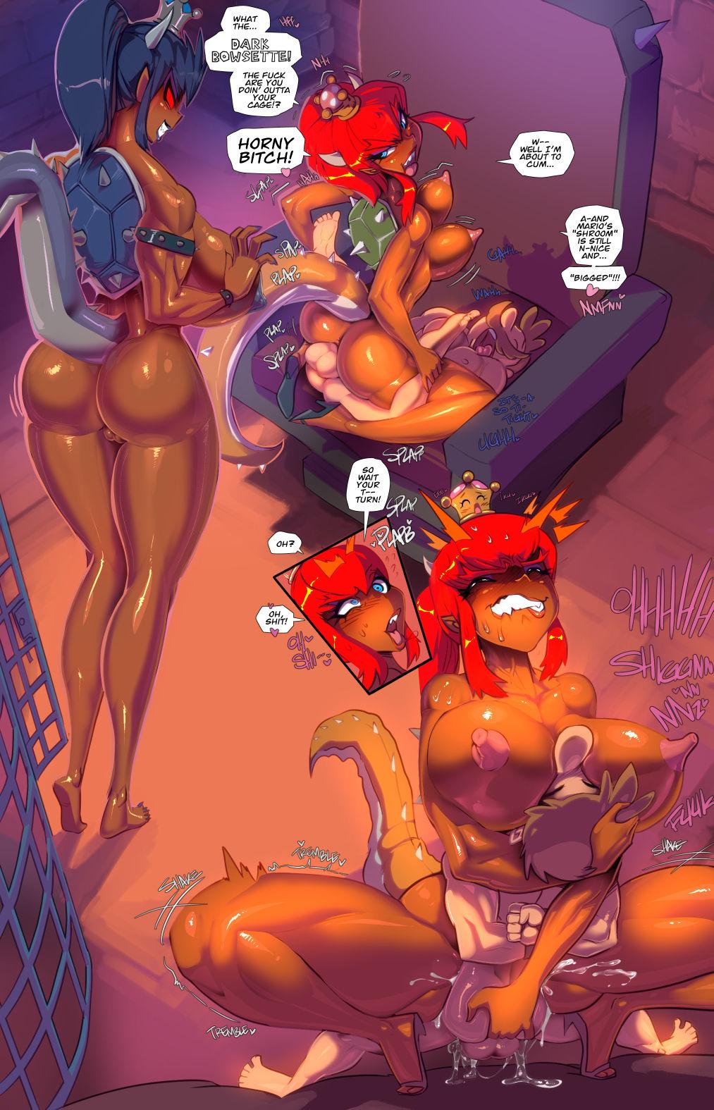 Bowsette's Bondage Bastille porn comics Masturbation, BDSM, Best, Blowjob, Cum Shots, cunnilingus, Femdom, Group Sex, Kidnapping, Lesbians, Monster Girls, Rule 63, Straight, Submission, Titfuck