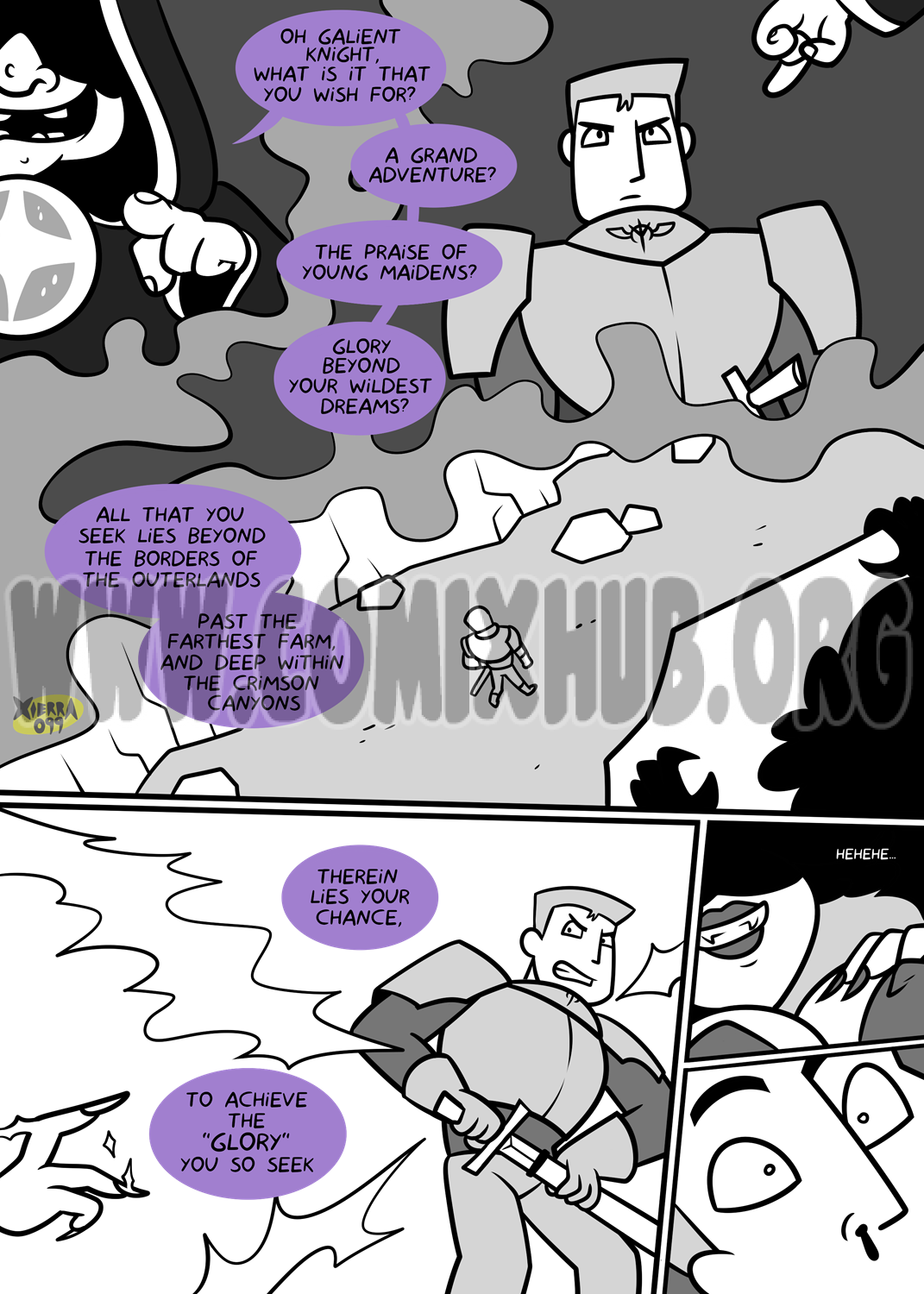 Bright Darkness - A Knight's Glory porn comics Oral sex, Blowjob, Creampie, Lolicon, Monster Girls, Stockings, Straight, X-Ray