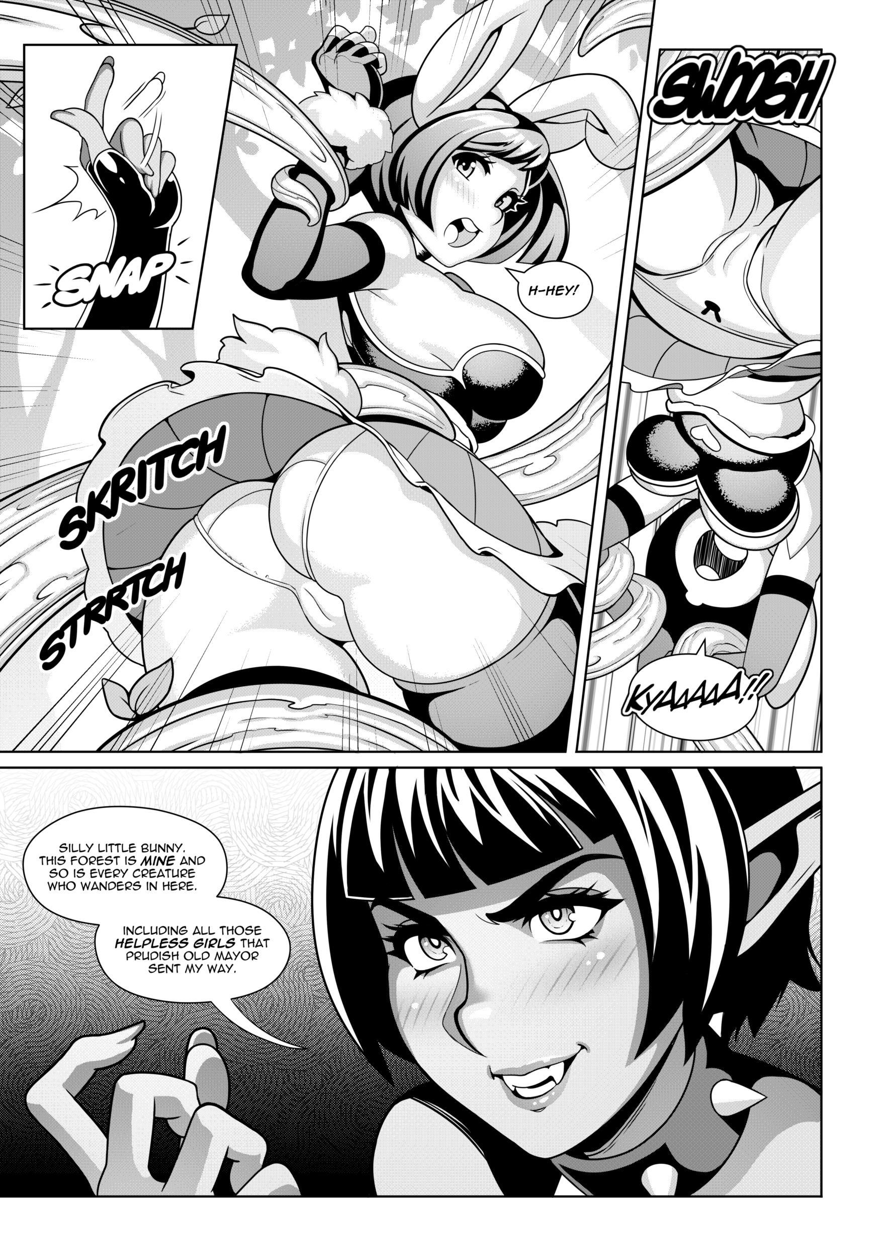 Bunny and Carrot porn comics Stockings, Futanari