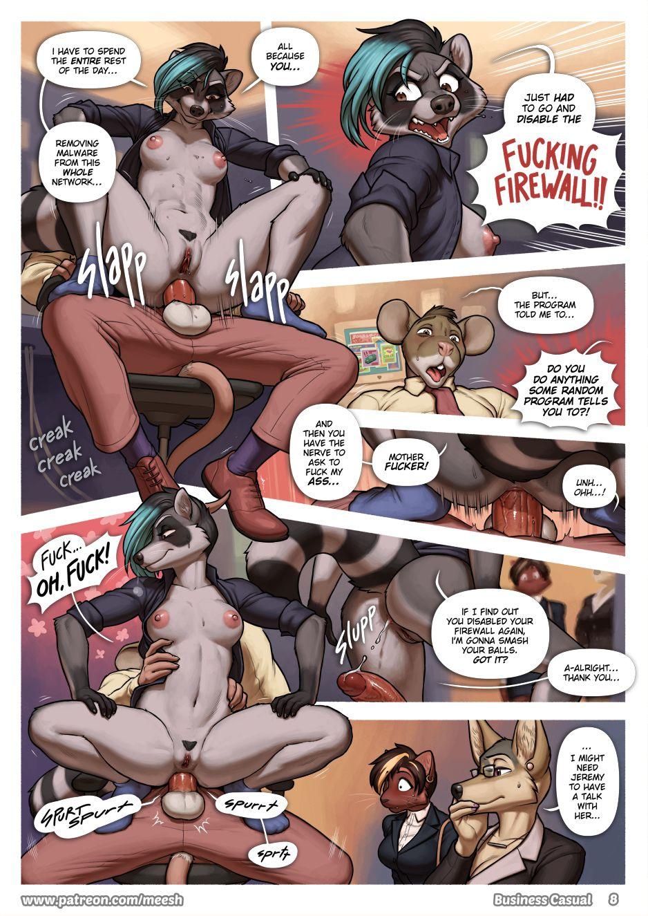 Business Casual porn comics Oral sex, Anal Sex, Blowjob, Cum Shots, Furry, Lesbians, Titfuck