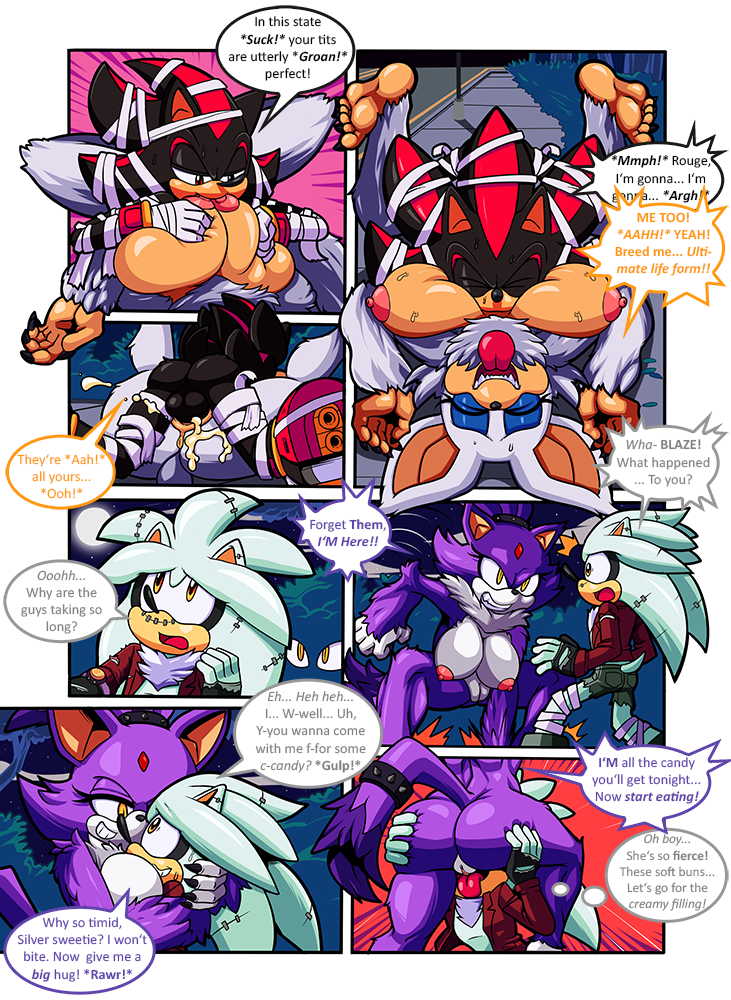 Calloween - A Sonic Unleashed Special porn comics Oral sex, Big Tits, Furry, Monster Girls, Titfuck