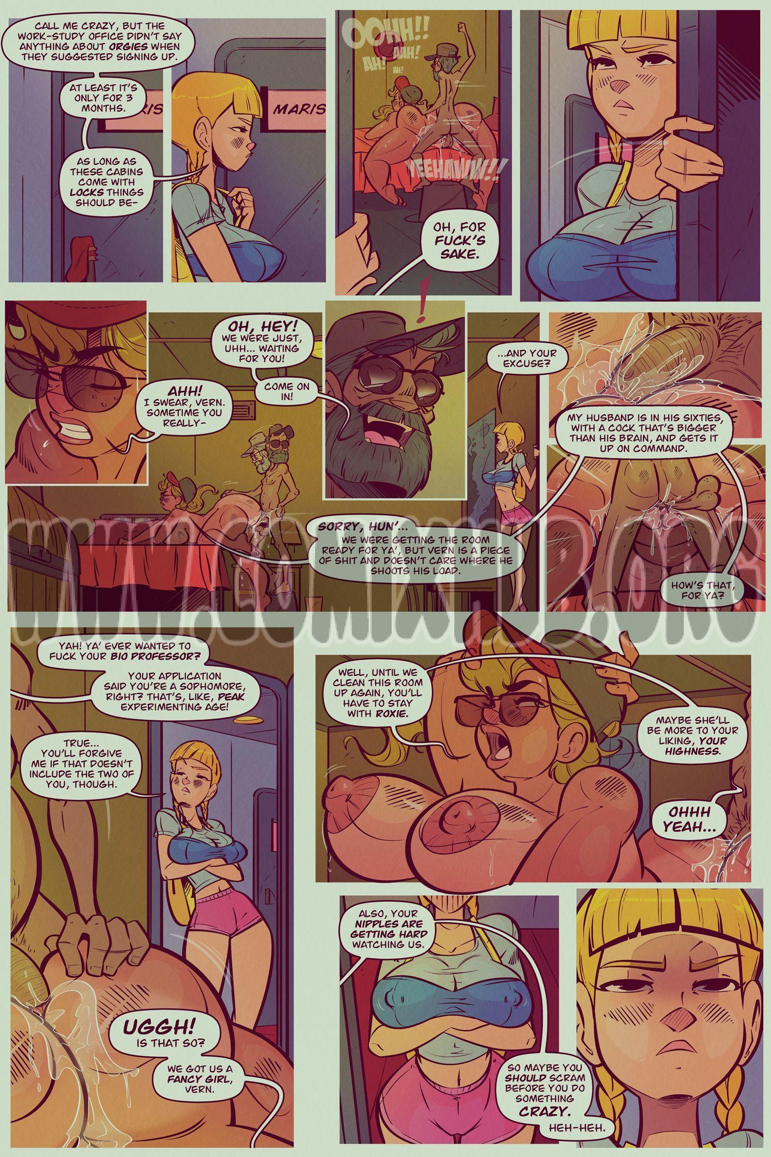 Captain Connie porn comics Straight, Big Tits, Creampie, Group Sex