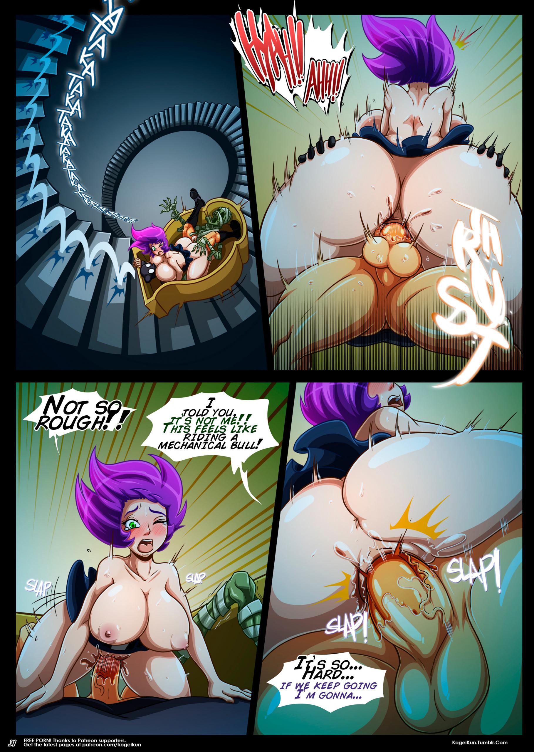 Chain Reaction porn comics Big Tits