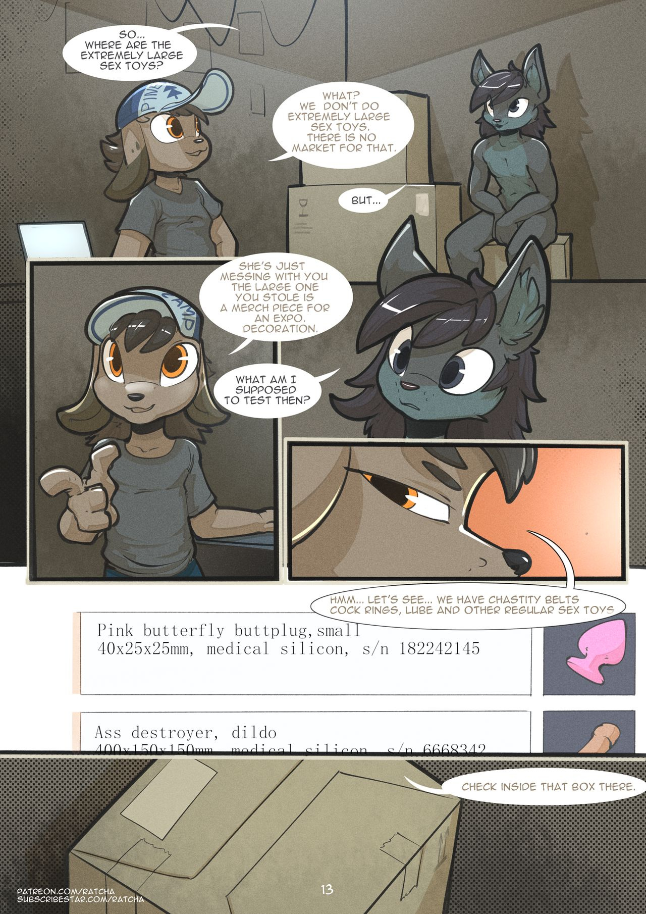 Chapter 5 - Problems porn comics Anal Sex, Furry, Pregnant, Sex Toys