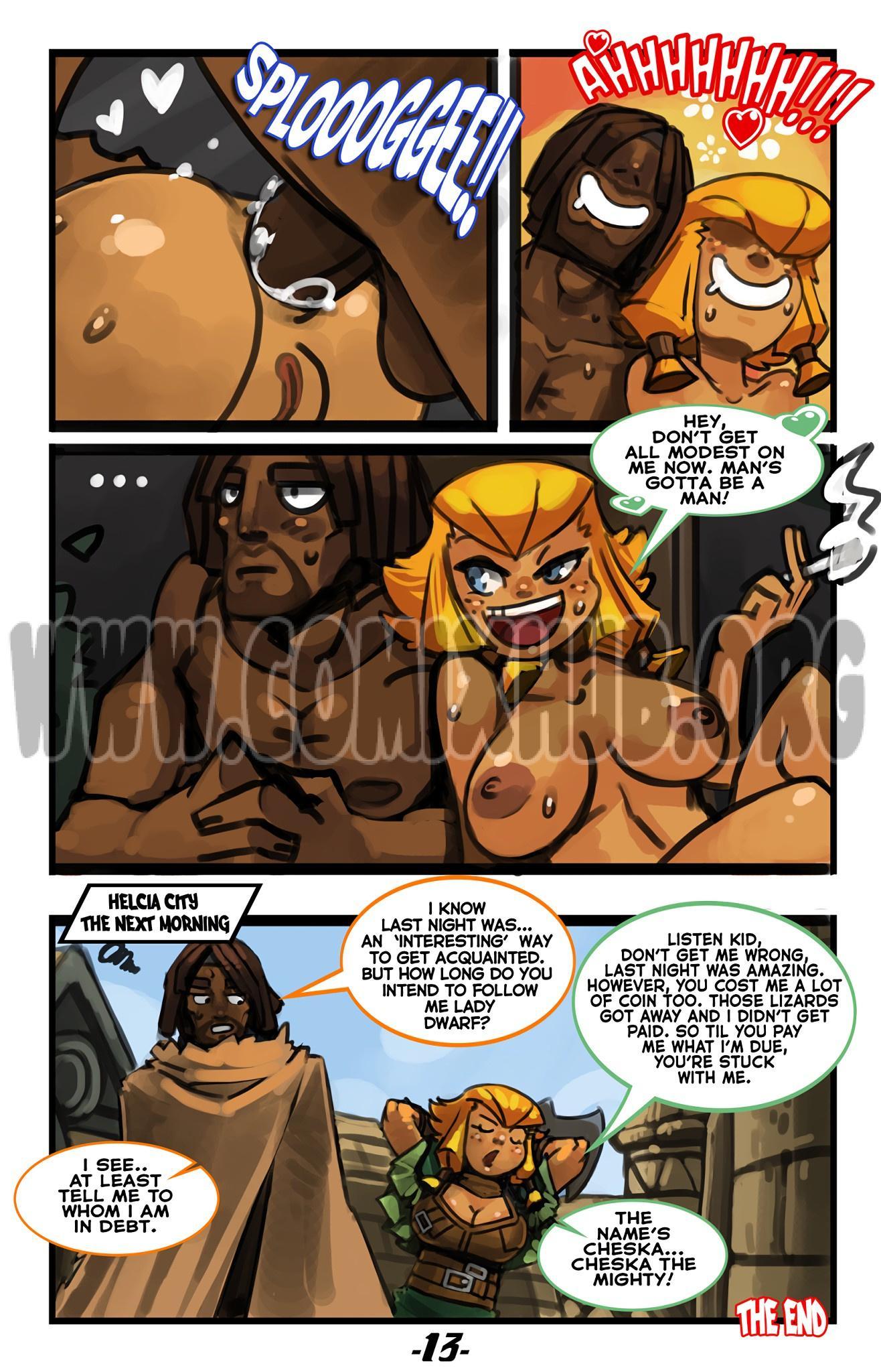 Cheska the Mighty porn comics Oral sex, Anal Sex, Big Tits, Blowjob, Creampie, Deepthroat, Straight, Titfuck