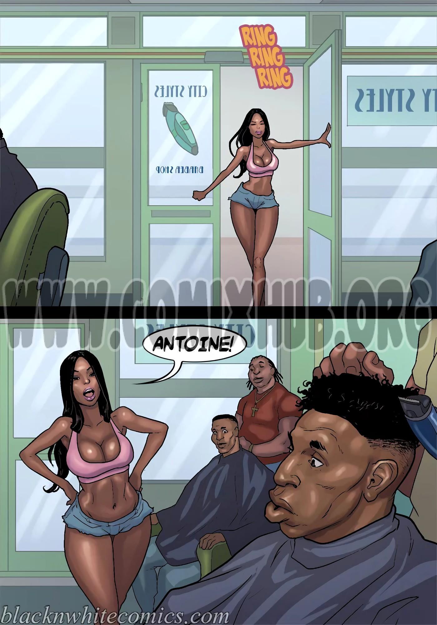 Chocolate City - Baby Mama porn comics Creampie, Straight