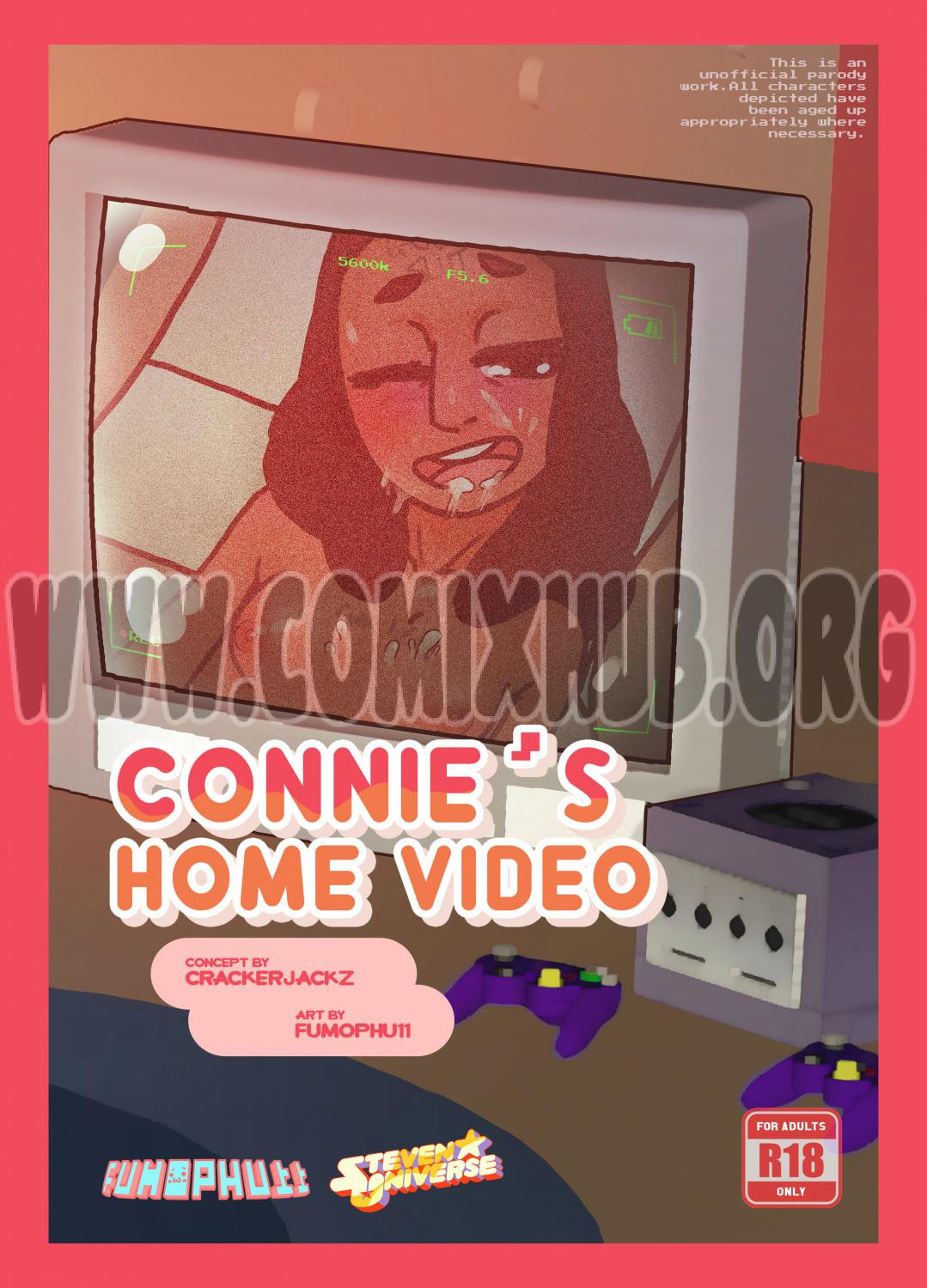 Connie's Home Video porn comics Oral sex, Anal Sex, Blowjob, Creampie, Cum Swallow, Double Penetration, Gangbang, Glasses, Lolicon, Straight, X-Ray