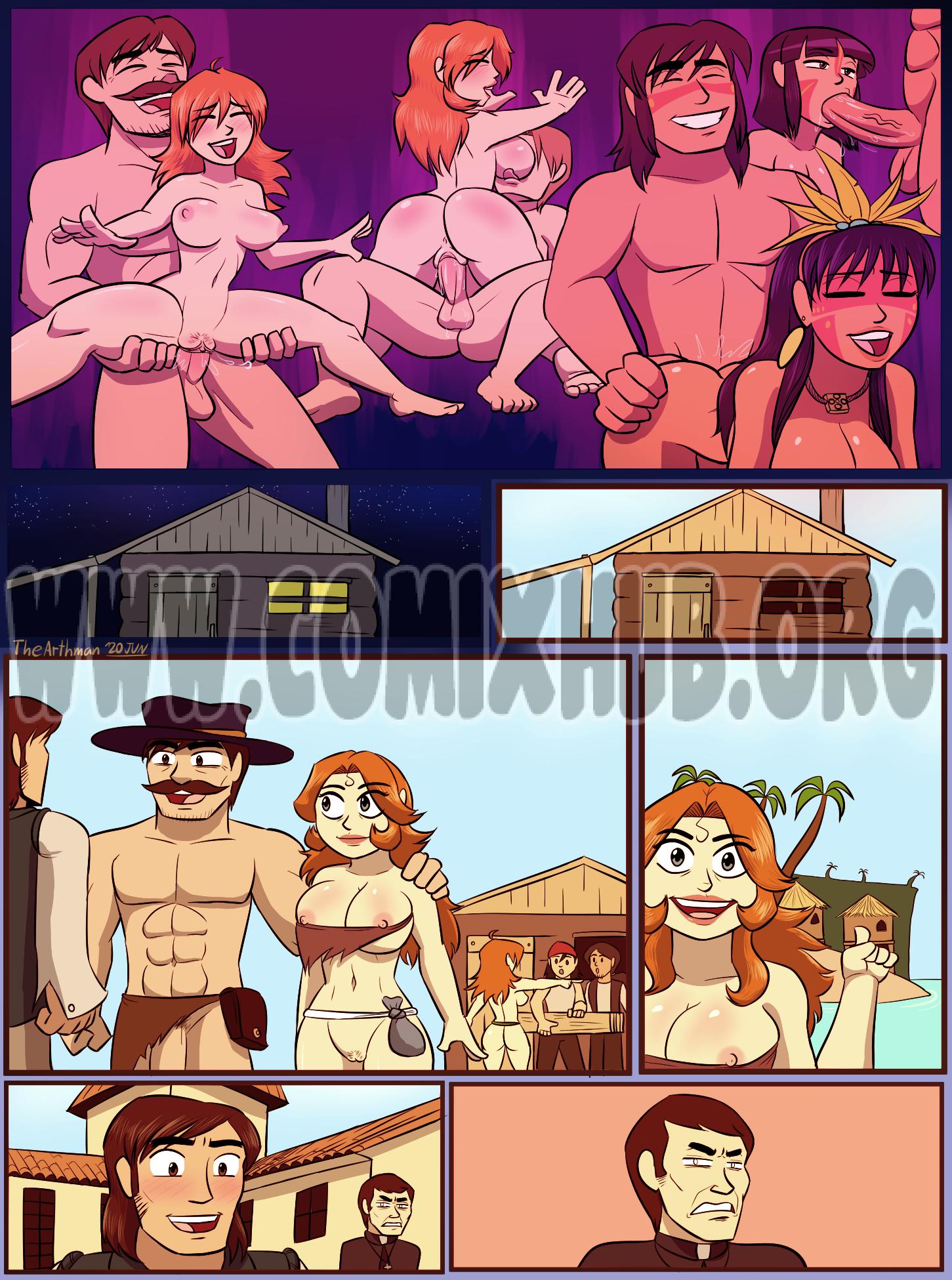 Conversion Big Tits, Straight, Threesome