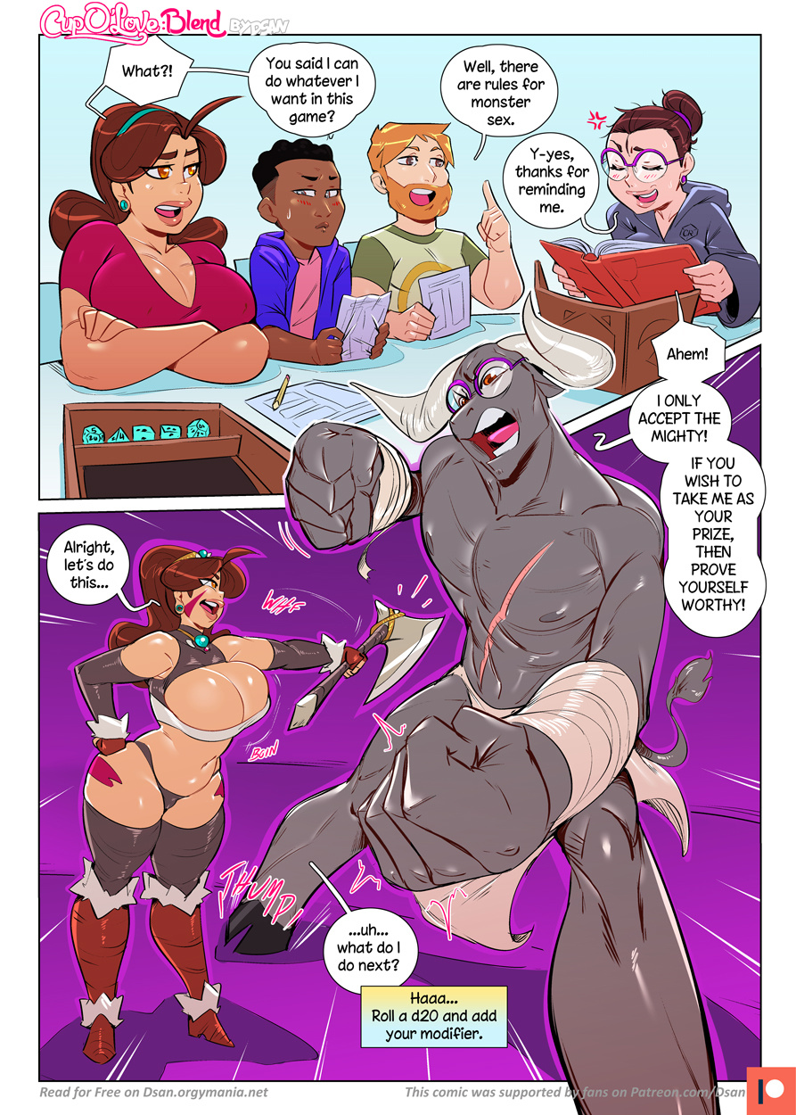 Cup O' Love - Blend porn comics Oral sex, Anal Sex, Big Tits, Blowjob, Creampie, Cum Swallow, cunnilingus, Deepthroat, Double Penetration, Stockings, Straight