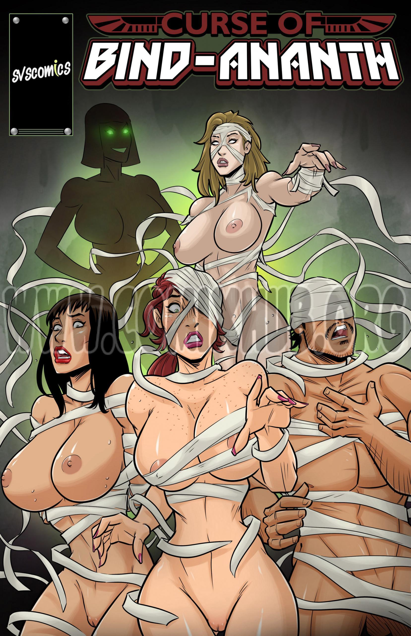 Curse of Bind-Ananth porn comics Oral sex, Big Tits, cunnilingus, fingering, Lesbians, Masturbation