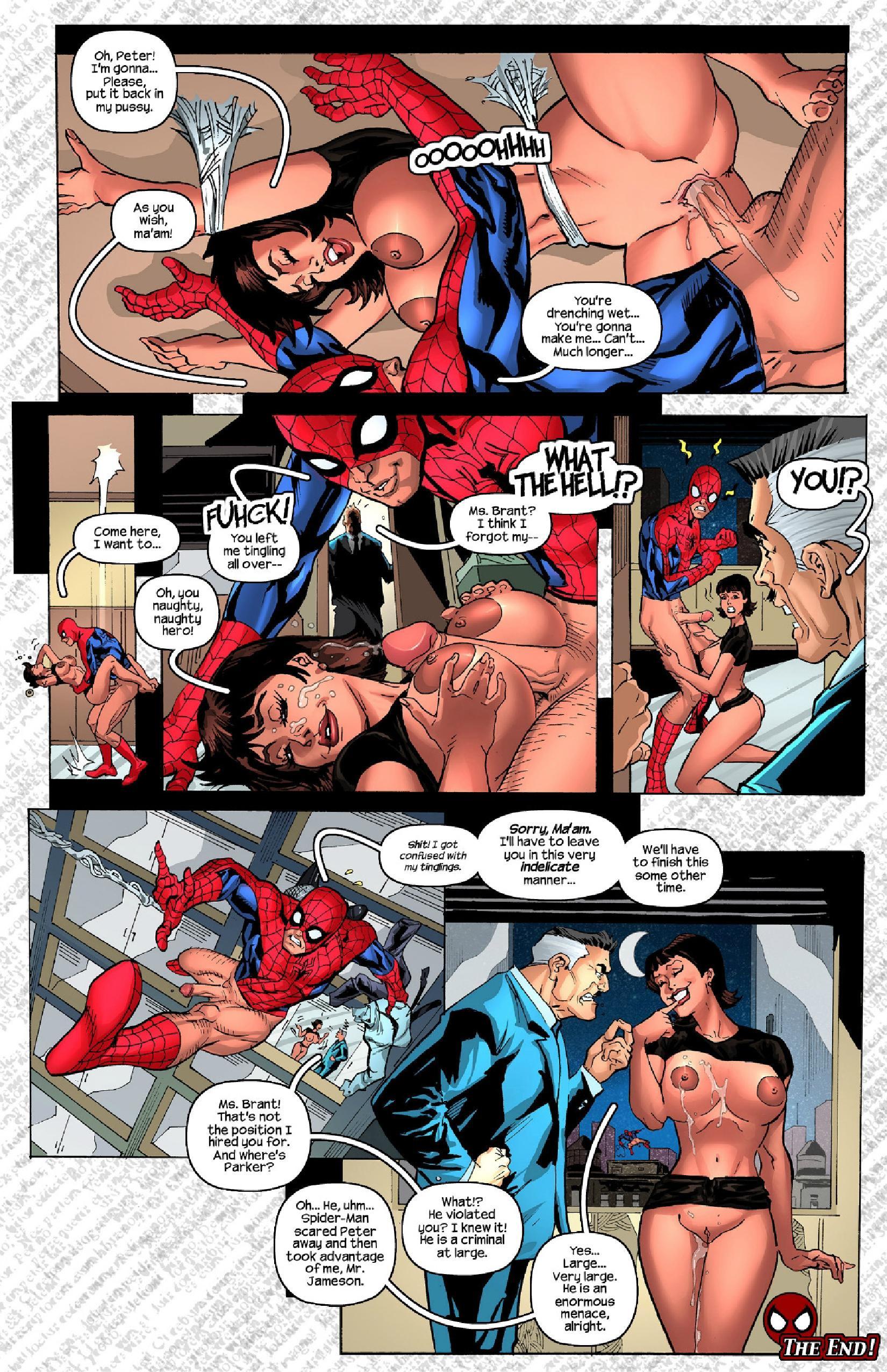 Daily Bugle porn comics Oral sex