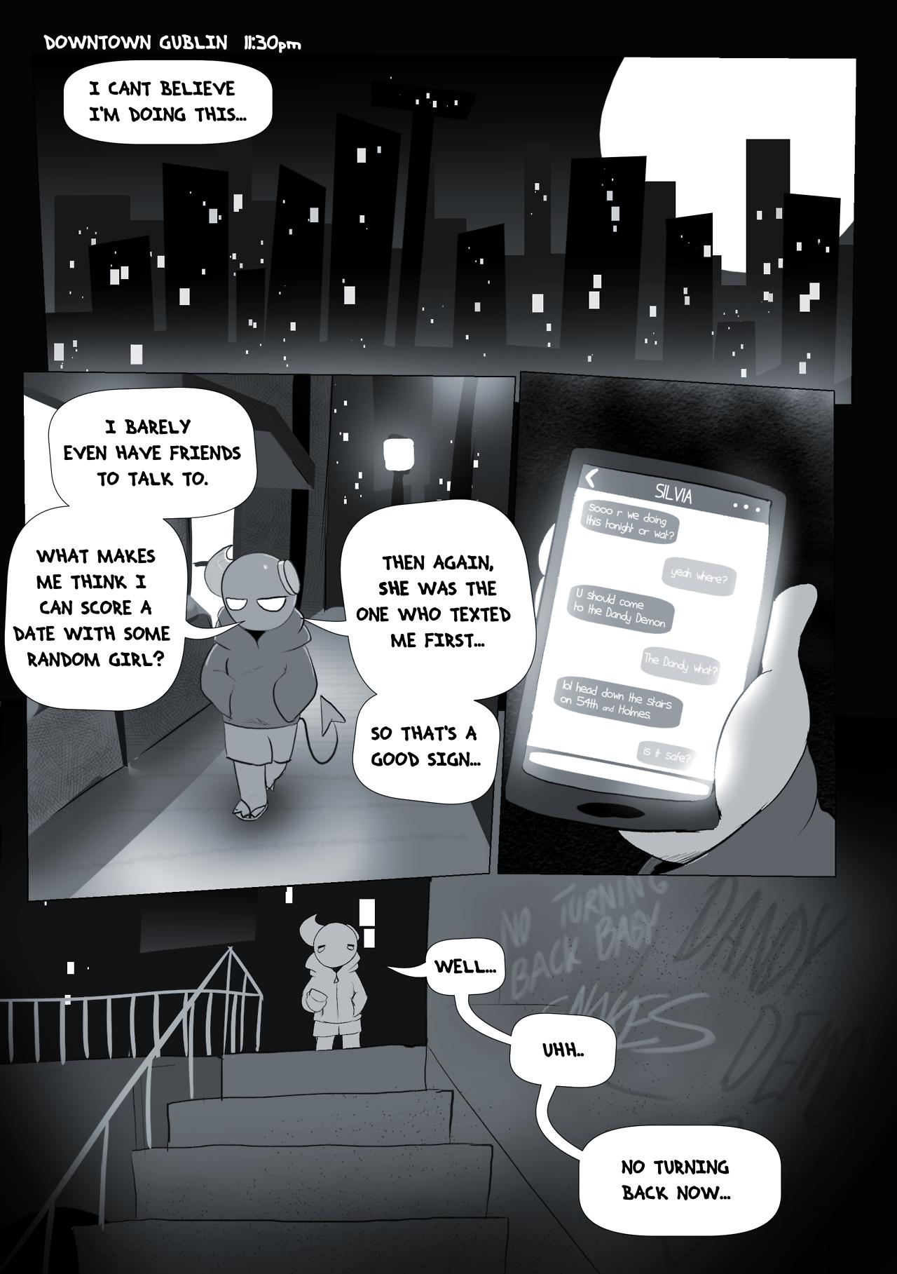 Dandy Demons Chapter 1 First Date porn comics Oral sex, Monster Girls
