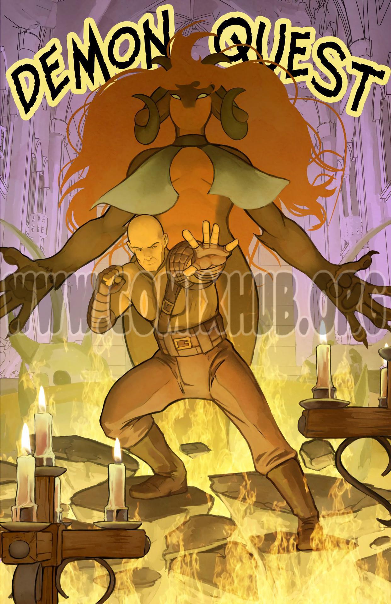 Demon Quest porn comics Fantasy, Monster Girls