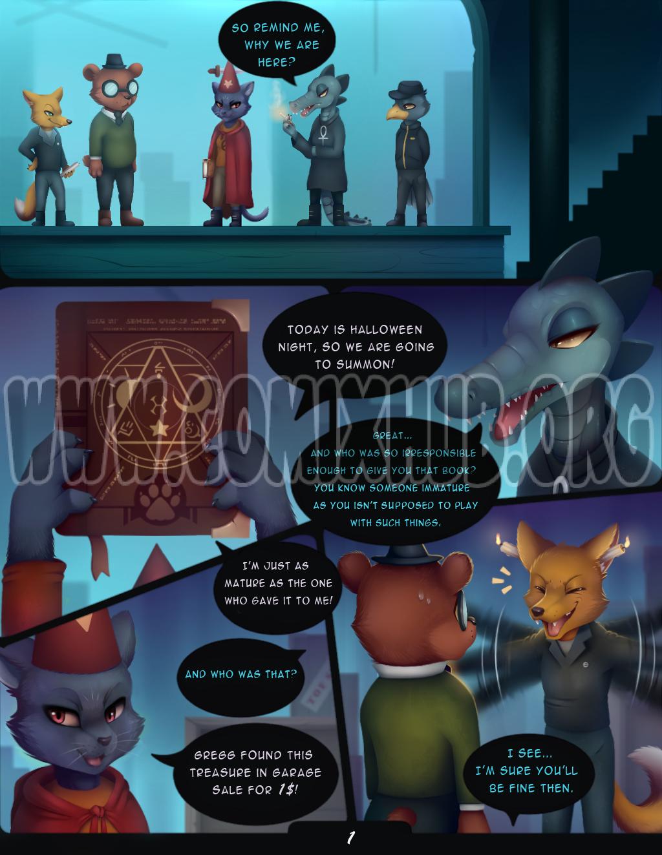 Depths of Magic porn comics Furry