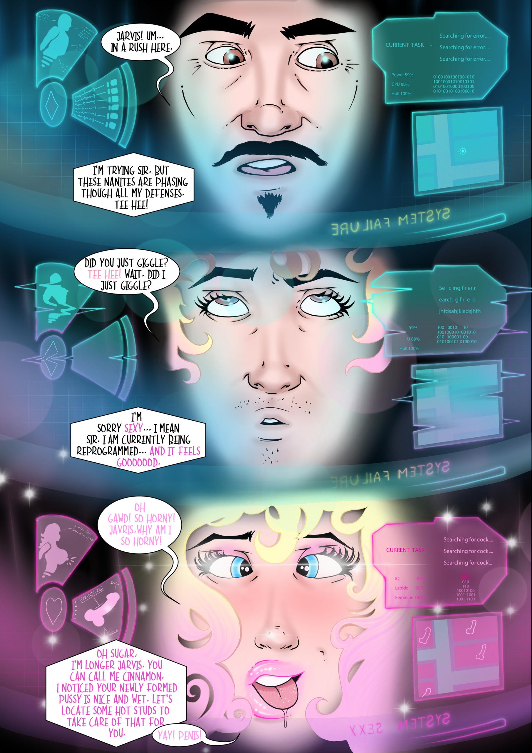 Doctor Bimboid vs Marvel Comic Heroes porn comics Oral sex, Group Sex, Lesbians, Rule 63
