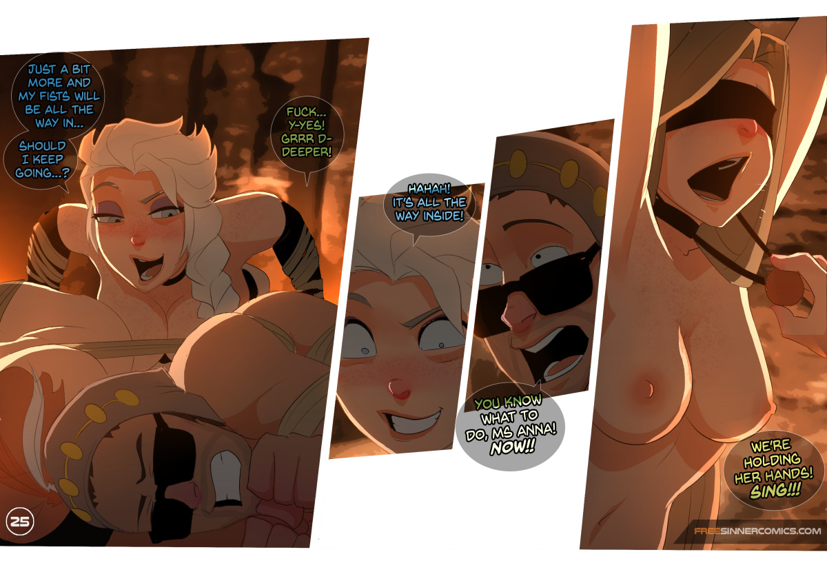 Elsa's Dungeon Ch.3 porn comics Oral sex, Anal Sex, BDSM, Bondage, Deepthroat, Domination, Fantasy, Femdom, Gangbang, Hardcore, Sex and Magic, Sex Toys, Stockings, Straight, Submission