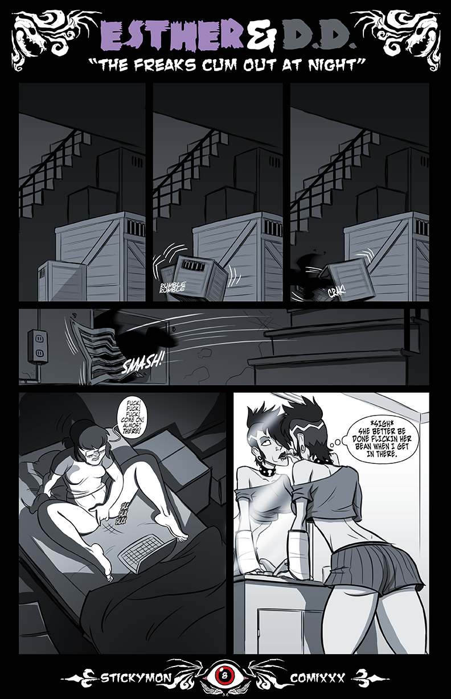 Esther & DD -Remastered- The Freak Cum Out At Night porn comics Oral sex, Masturbation, Rape