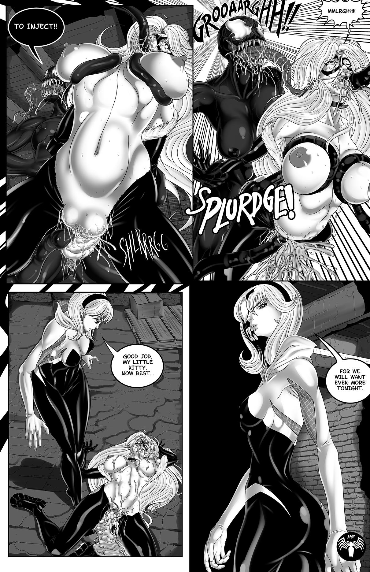 Felicia's Spider-Problem porn comics Oral sex, Big Tits, Futanari, Latex, Lesbians, Rape, Tentacles
