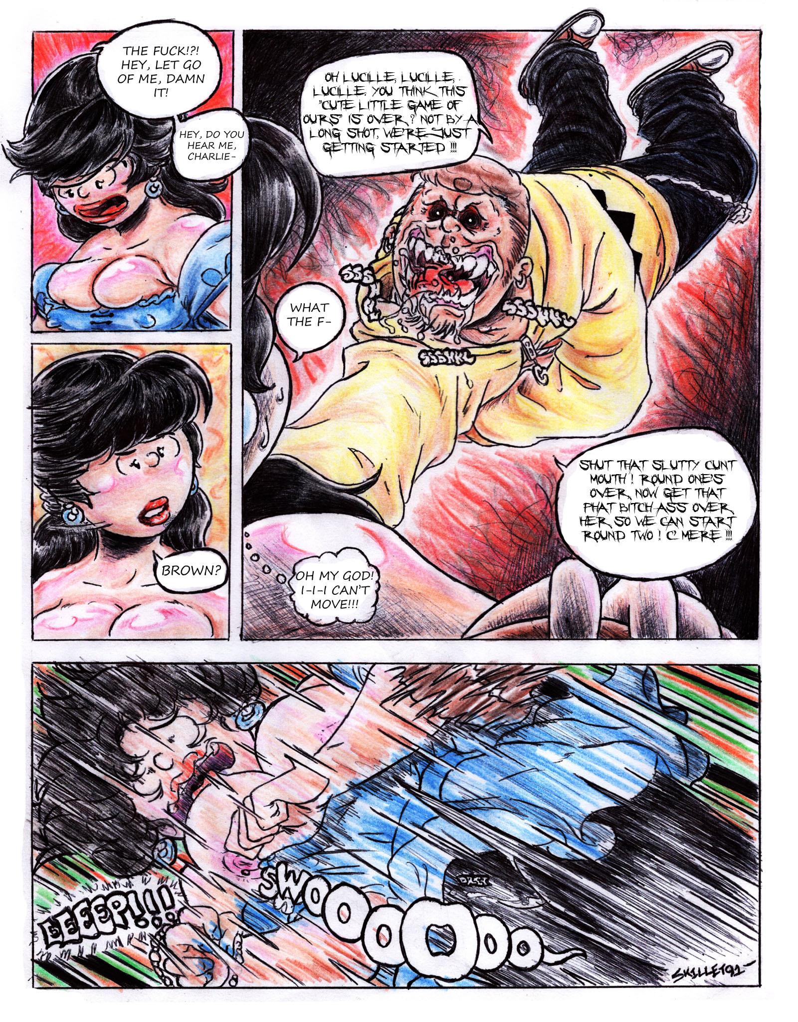 For Once, Kick That Fat Ass porn comics Oral sex, Rape