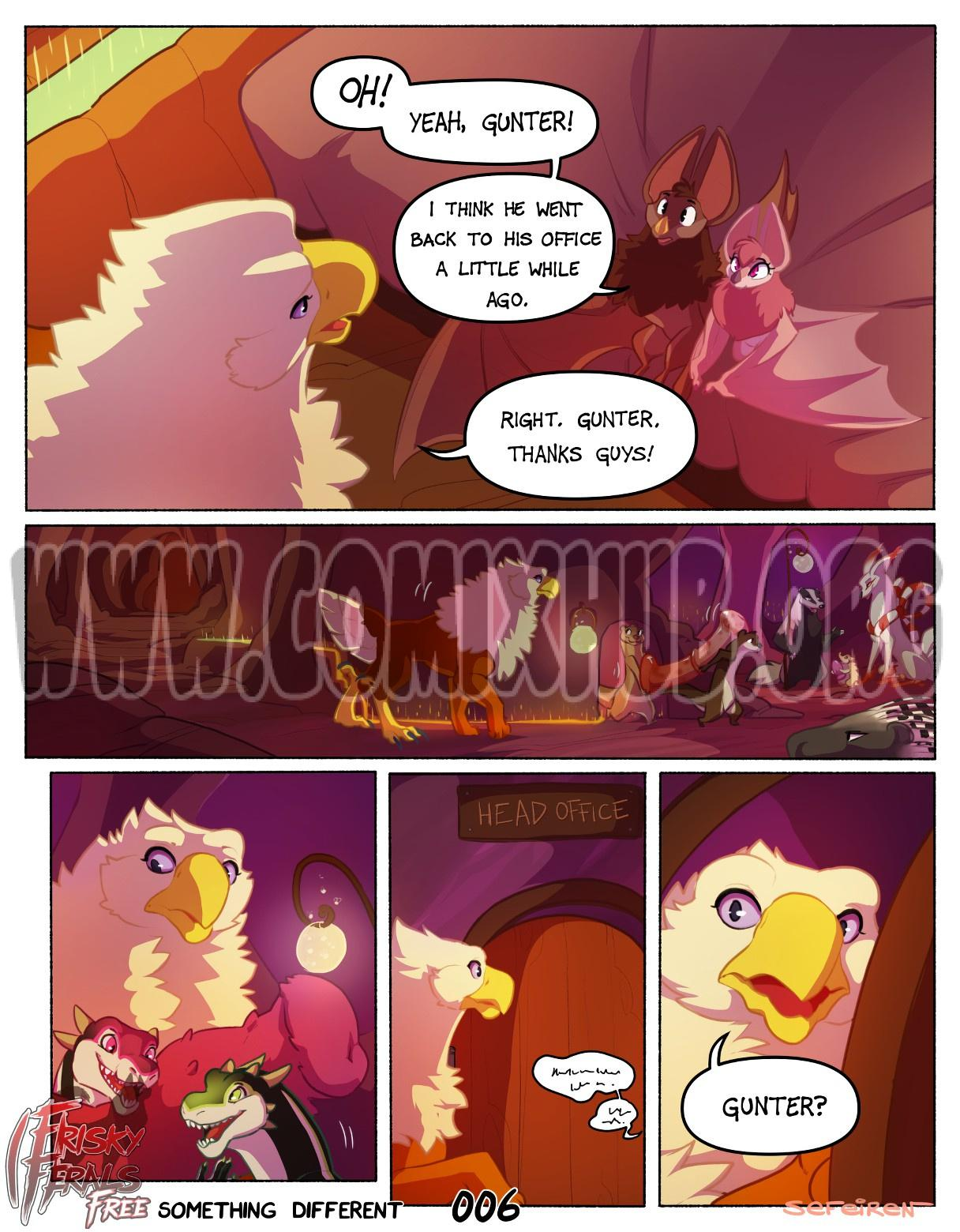 Frisky Ferals - Something Different Straight, Fantasy, Furry
