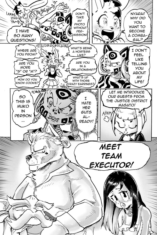 Furry Fight Chronicles 9 porn comics Furry, Stockings